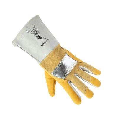 WELDAS/威特仕 牛青皮铝带焊接手套 10-2788 L 32cm