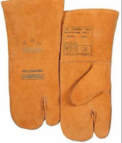 WELDAS/威特仕 雄鹿色活动食指焊接手套 10-2178 L 35cm
