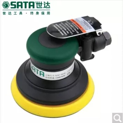 "SATA/世达 中央吸尘式气动打磨机 5"" SATA-02525,工具设备,气动工具,气动打磨及抛光"