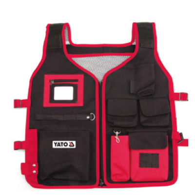 YATO/易尔拓 夹克式工具包 YT-7405 5袋 510×600mm 1个