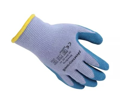 HONEYWELL/霍尼韦尔 DEXGRIP天然乳胶涂层工作手套 2094140CN 蓝色涂层