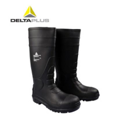 DELTA/代尔塔 AMAZONE PVC高帮安全防化靴 301407 防砸防静电防刺穿耐酸碱耐油