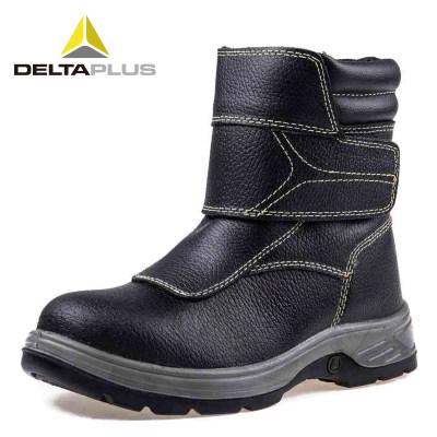 DELTA/代尔塔 FUSION 4x4系列高帮牛皮安全鞋 301910黑色 防砸防静电防刺穿防水防滑