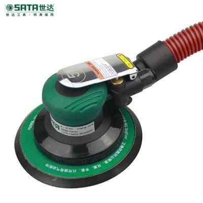 """SATA/世达 6""""工业级自吸尘式气动打磨机(偏心距2.5mm) SATA-02659,工具设备,气动工具,气动打磨及抛光"""