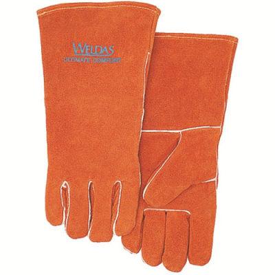 WELDAS/威特仕 锈橙色斜拇指焊接手套 10-0100 L 35cm