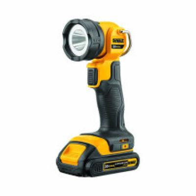 DEWALT/得伟 18V 锂电万向手电筒单机(不含电池和充电器) DCL040 18V 裸机,工具设备,电动工具,充电式工具