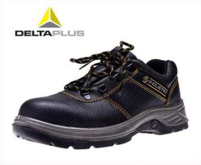 DELTA/代尔塔 NAVARA4x4系列低帮牛皮安全鞋 301902 黑色 防砸防静电防刺穿 橡胶大底