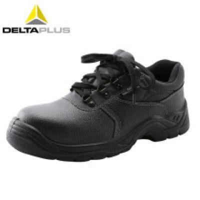 DELTA/代尔塔 POKER2老虎2代低帮牛皮安全鞋 301510 黑色 防砸防静电防刺穿防水