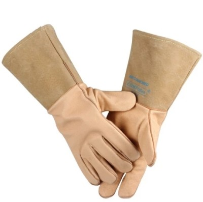 WELDAS/威特仕 猪青皮斜拇指焊接手套 10-2076 L 34cm