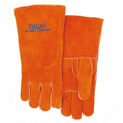 WELDAS/威特仕 锈橙色直拇指焊接手套 10-0392 L 34cm