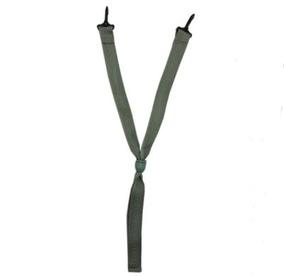 MSA/梅思安 国标C型下颏带 9100003-SP 挂钩式 与帽壳连接 帽珠调节