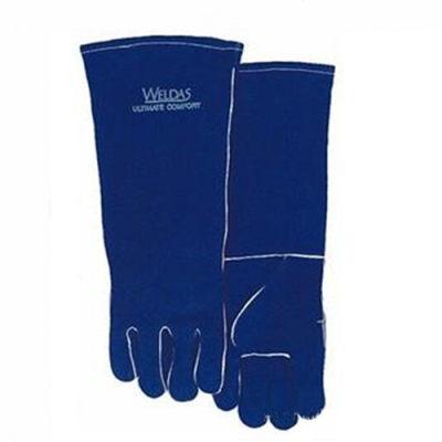 WELDAS/威特仕 彩蓝色长袖筒焊接手套 10-2054 L 46cm