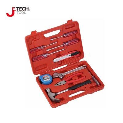 JETECH/捷科 家用工具套装(10件) JEB-F10 1套,工具设备,手动工具,工具组套