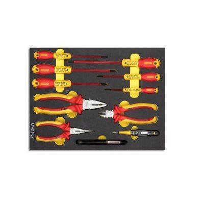 STANLEY/史丹利 工具托-专业级绝缘工具组套(11件) LT-012-23 11件 1套,工具设备,手动工具,工具组套