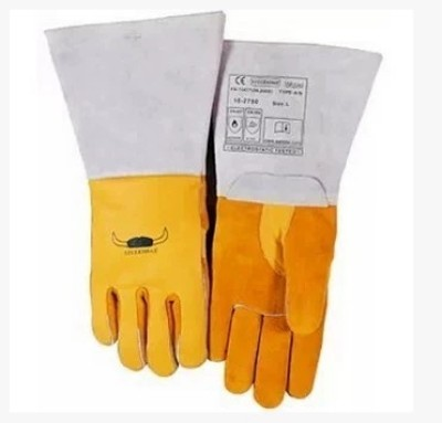 WELDAS/威特仕 牛青皮高档焊接手套 10-2750 L 37cm,工具设备,劳保用品,焊接防护