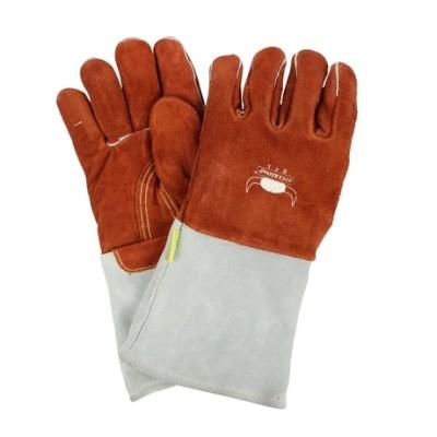 WELDAS/威特仕 咖啡色耐高温焊接手套 10-2900 L 35cm