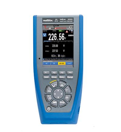 CA TRMS彩色图形万用表 MTX3293-BT 200KHz 带蓝牙模块