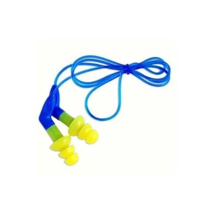 3M Ultrafit带把手圣诞树型耳塞 340-8002 带线 NRR/SNR:27/35dB,工具设备,劳保用品,听力防护