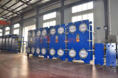 商场**空调供暖专用可拆式板式换热器