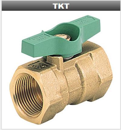 KITZ北泽黄铜丝口球阀_TKT-600黄铜球阀