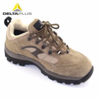DELTA/代尔塔 PERTUIS户外系列低帮翻毛皮安全鞋 301305 米色 防砸防静电防刺穿 橡胶大底