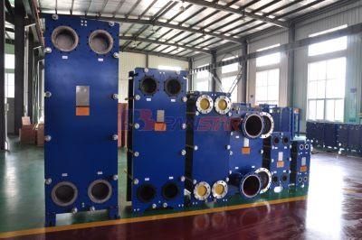 扬州派斯特 传动油冷却用不锈钢板式换热器